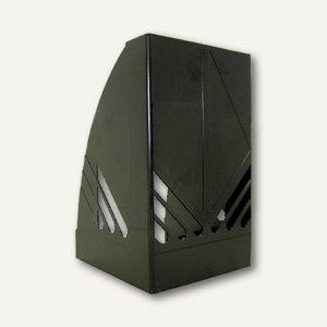 M&M Stehsammler DIN A5, 142x124x209 mm, schwarz, 68310101SP
