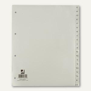 """officio Zahlenregister, """"1-31"""", DIN A4+ überbreit, Kunststoff, grau, 1 Satz"""