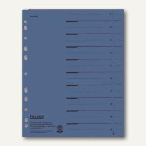 Falken Trennblätter DIN A4, durchgefärbt blau, 250 g/m², 100 Stück, 80001605