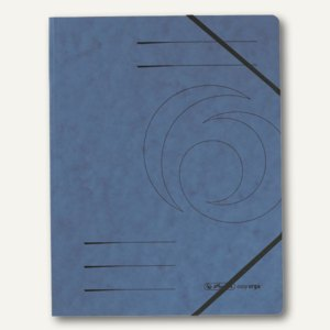 "Herlitz Eckspanner ""easyorga"" DIN A4, blau, 5 Stück, 11387180"