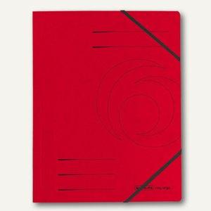 "Herlitz Eckspanner ""easyorga"" DIN A4, rot, 5 Stück, 11387172"
