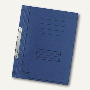 Falken Einhakhefter DIN A4, 1/1 Vorderdeckel, blau, 80000839