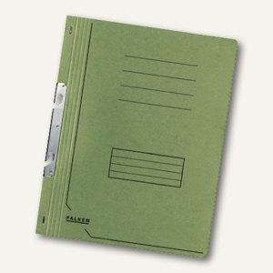 Falken Einhakhefter DIN A4, 1/1 Vorderdeckel, grün, 80000847