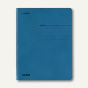Falken Einschlagmappe DIN A4, blau, 80001316