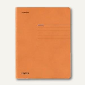 Falken Einschlagmappe DIN A4, orange, 80001472