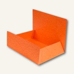 Exacompta Aktenmappe / Jurismappe DIN A4, Karton 400 g/m², orange, 56409E