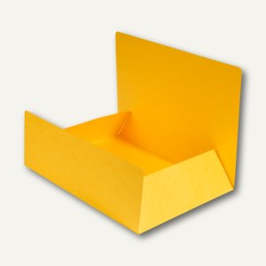 Exacompta Aktenmappe / Jurismappe DIN A4, Karton 400 g/m², gelb, 56404E