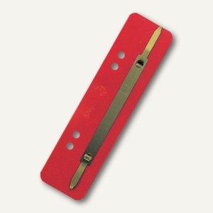 Brause Heftstreifen, PP-Folie, rot, 25 Stück, 425003B