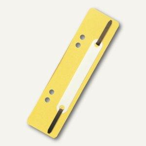 Brause Heftstreifen PP, gelb, 25 Stück, 426004B