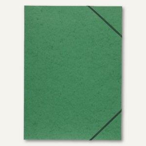 Exacompta Sammelmappen DIN A3, mit Klappen, aus Karton, grün, 59515E