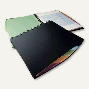 Durable Sichtbuch Duralook Style DIN A4, mit 20 Hüllen, schwarz, 2435-01
