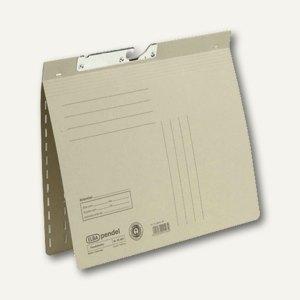 Elba Pendelhefter DIN A4, kaufm. Heftung, 250 g/qm, grau, 100560096