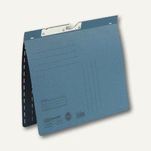 Elba Pendelhefter DIN A4, kaufm. Heftung, 250 g/qm, blau, 100560093