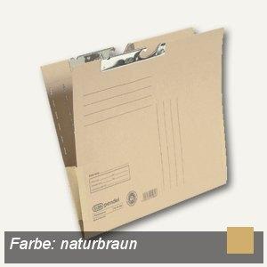 Pendeltaschen A4, Kartonfrösche, Metallhänger, braun, Natron, 50St., 100570033