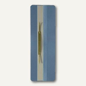 Elba Ösenschmalhefter, Karton 250g/m², 305 x 65 mm, blau, 100091760