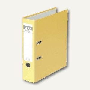 Elba Ordner RADO-Lux-Brillant DIN A4, 80 mm, gelb, 100022613