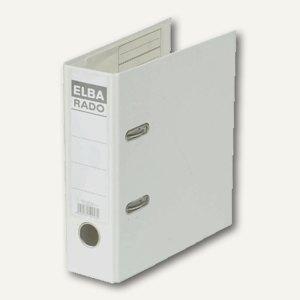 Elba Ordner RADO-Plast DIN A5 hoch, 75mm, weiss, 100022642