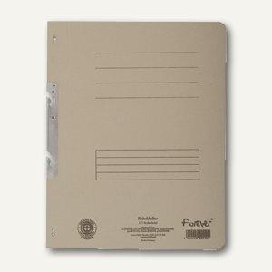 Exacompta Einhakhefter, 1/1 Vorderdeckel mit Orga-Druck, grau, 352510B