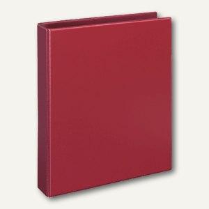 "Veloflex Ringbücher ""Comfort"" DIN A4, PVC, 4 D-Ringe Ø 25 mm, rot, 4143020"
