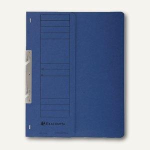 Exacompta Einhakhefter, 1/2 Vorderdeckel mit Orga-Druck, blau, 352607B