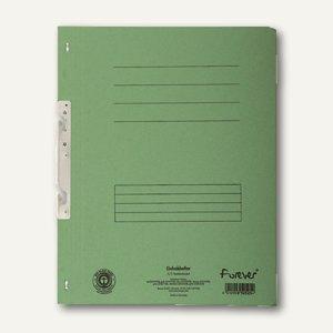 Exacompta Einhakhefter, 1/1 Vorderdeckel mit Orga-Druck, grün, 352525B