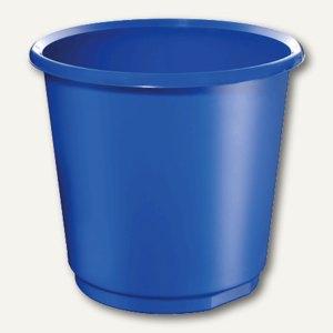 Herlitz Papierkorb, 18 l, blau, 73213