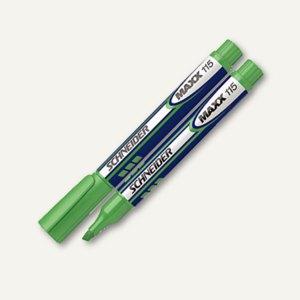 Schneider Textmarker Maxx 115, Keilspitze ca. 1-4 mm, grün, 111504