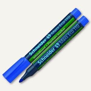 """Schneider Board-/Flipchartmarker """"Maxx 110"""", Rundspitze: 1-3 mm, blau, 111003"""
