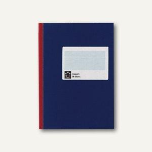 officio Kladde SB DIN A4, liniert, 96 Blatt, blau