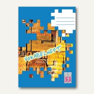 Landré Vokabelheft DIN A6, liniert, 32 Blatt, 100050479