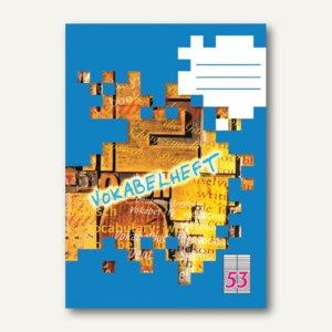 Landré Vokabelheft DIN A5, liniert, Lineatur 53, 32 Blatt, 100050468