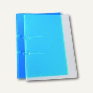 dataplus Schnellhefter UNO, A4, Stripbinder, blau-transparent, 25 St., 25442.810