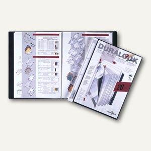 Duralook Plus Sichtbuch DIN A4 mit 40 Hüllen