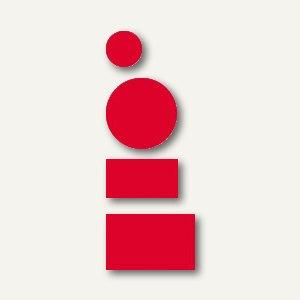 Franken Magnetsysmbole, Kreise & Rechtecke, rot, MKS 01