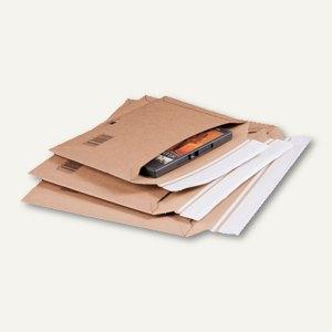 smartboxpro Versandtasche für Querbefüllung, DIN B5+, braun, 100 St., 210102025