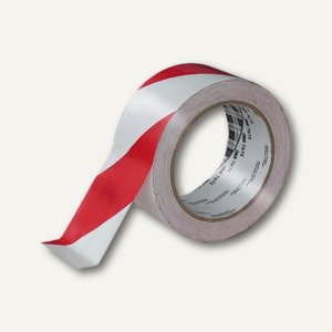 Citius Signalklebeband, PP, 32 my, 50 mm x 60 m, rot/weiß, 2165