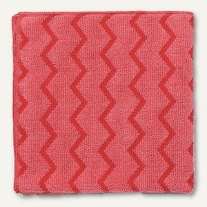 Rubbermaid Mirkofaser- Allzwecktuch, 40.6 x 40.6 cm, rot/rosa, R050652