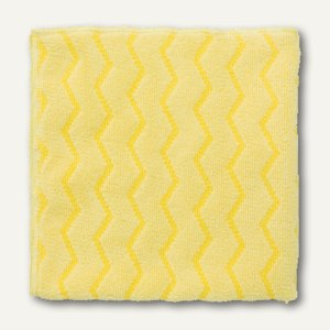 Rubbermaid Mikrofaser- Allzwecktuch, 40.6 x 40.6 cm, gelb, FGQ62088YL00