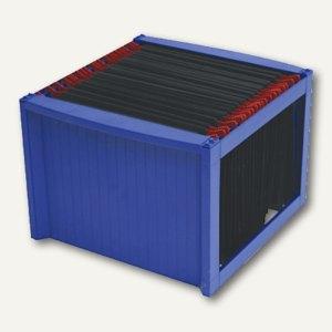 Helit Hängeregistratur-Gestell, DIN A4, blau/blau, 260x360x380mm, H6110034