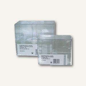 M&M Karteikasten DIN A6, glasklar, 66240340