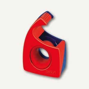 Tesa Handabroller Easy Cut für Rollen 10m x 19mm, rot/blau, 57443-00001-00