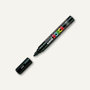 Faber-Castell uni Lackmarker POSCA, Rundspitze -2.5mm, schwarz, 182599
