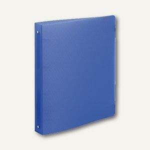 "Exacompta Ringbuch DIN A4 ""Linicolor"", 2-Ringe Ø 15mm, PP, blau, 54172E"