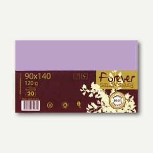 """Clairefontaine Umschläge C6 im PPP """"forever"""", 120g/m², flieder, 20 Stück,665866C"""