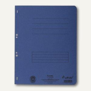 Exacompta Ösenhefter, 1/1 Vorderdeckel, m. Organisationsdruck, blau, 351507B