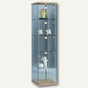 Ganzglasvitrine FORUM 1 - 1.720 x 430 x 430 mm