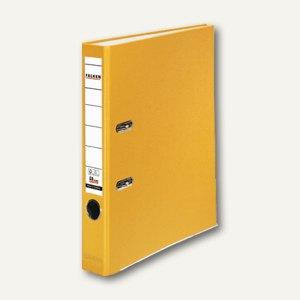 Falken Ordner PP-Color DIN A4, Rückenbreite 50mm, gelb, 09984139