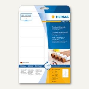 Herma Outdoor-Etiketten, temperaturbeständig, 99.1 x 42.3 mm, 120 St., 9533
