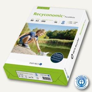 Universalpapier Recyconomic Pure White, Weiße 90, DIN A4, 500 Blatt, 88031825