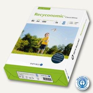 PAPYRUS Universalpapier Recyconomic Classic White, DIN A4, 500 Blatt, 88031811